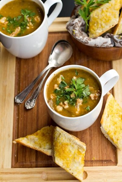 Mushroom Millet Soup - I'll probably replace millet with quinoa and ...