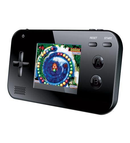 My Arcade Handheld Video Game System in Black - The gaming system is perfect at home, in the car or just about anywhere you can imagine! Fits easily in your pocket, purse, bag or backpack! You'll always have your games at your fingertips with the My Arcade Portable Gaming System!  - http://ehowsuperstore.com/bestbrandsales/video-games/my-arcade-handheld-video-game-system-in-black