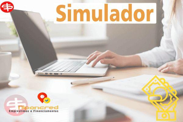 Simulador de Empréstimos https://www.niponcred.com.br/simulador/