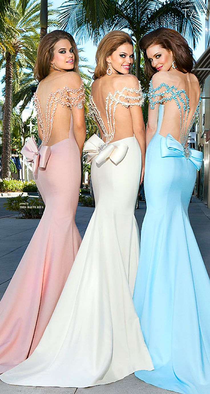 Bridesmaids ♔ on Rodeo Drive (in Tarik Ediz) ♔ Tres Haute Diva