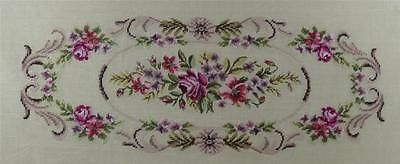 1 VINTAGE PRE-WORKED CANVAS TAPESTRY (BENCH SEAT COVER) (#3120)