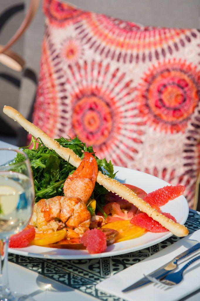 Repas méditerranéen pour vivre l'été indien