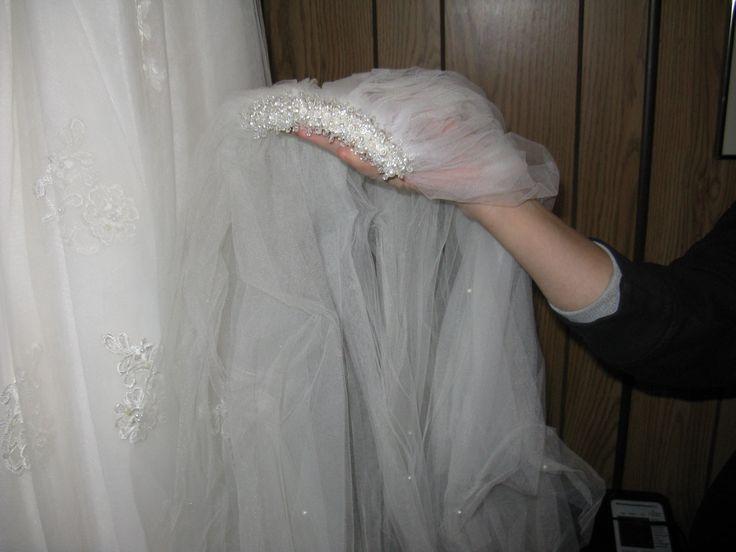 my long beaded veil