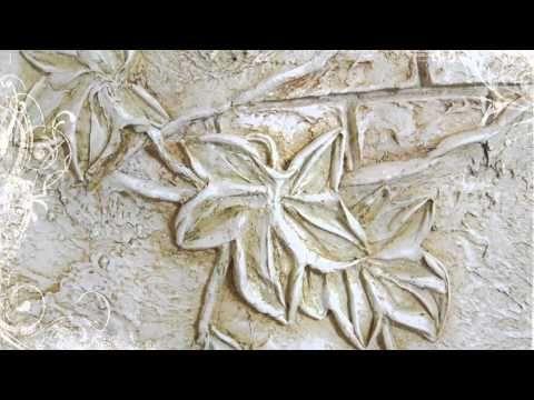 Роспись стен, рельефные панно.wmv - YouTube