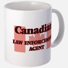 Canadian Law Enforcement Agent Mugs for