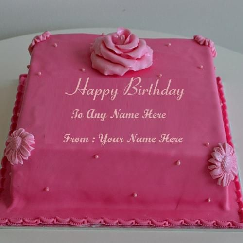 write name birthday cake for friends and family.happy ...