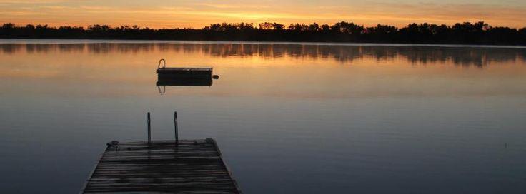 Watching the sunset on Lucien Lake #lucienlake #watersedge #lakelife #sunsets #sasklakefront #sasklakes