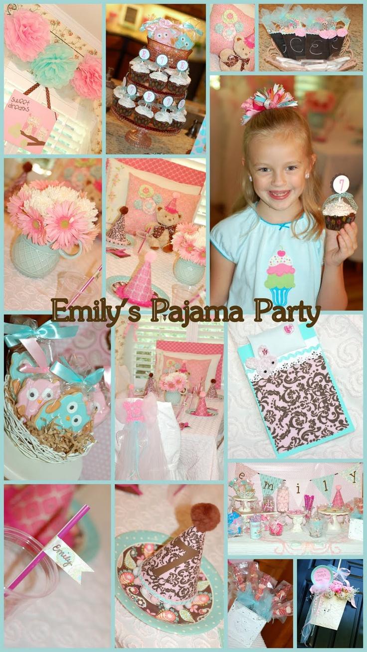 pajama party x