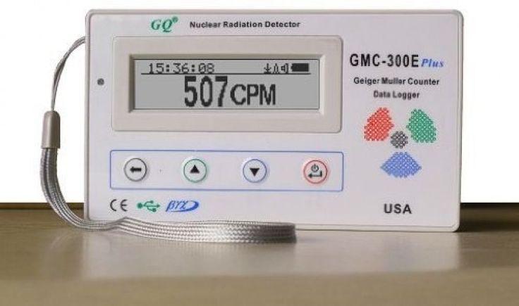 GQ GMC-300E-Plus Digital Geiger Counter Nulcear Radiation Detector Monitor Beta