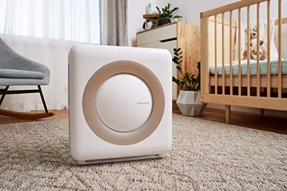 Coway Ap 1512hh Mighty Air Purifier With True Hepa And Eco Mode In White Portable Air Purifier Air Purifier Reviews Home Air Purifier