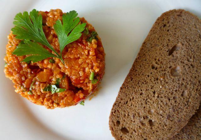 Paprykarz wegetariański z kaszą jaglaną (II)