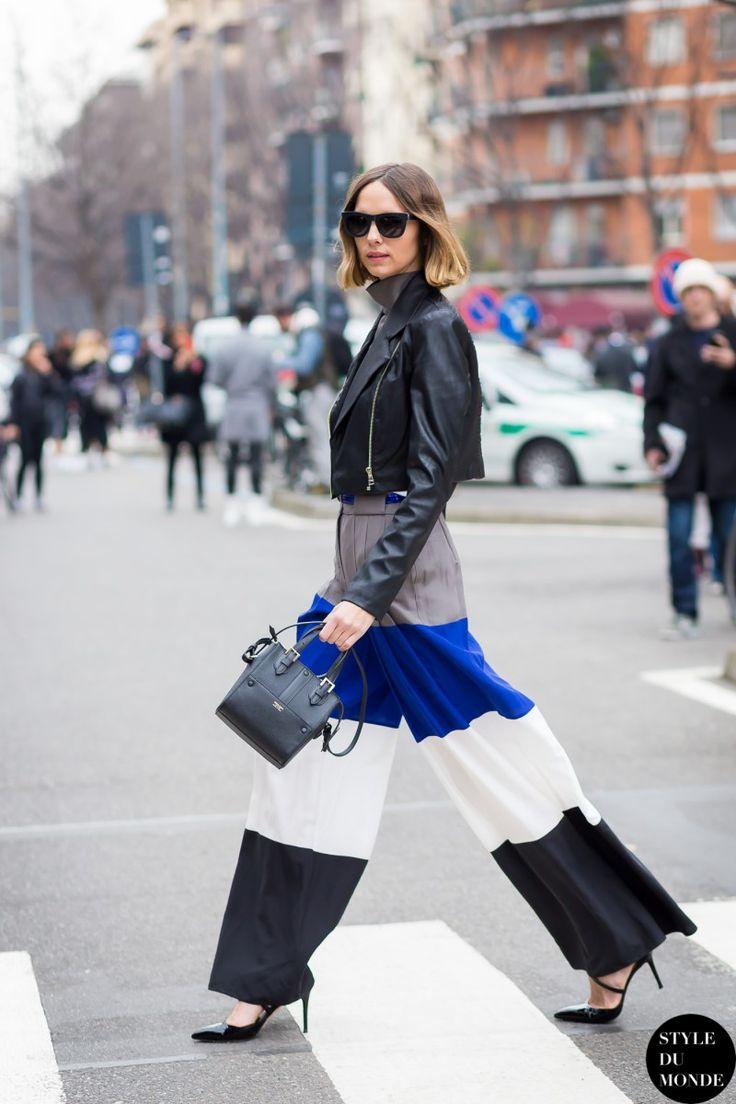 Milan Fashion Week FW 2015 Street Style: Candela Novembre