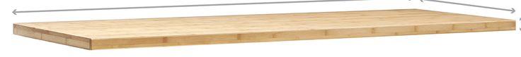 Bold Series Bamboo Cabinet Worktop