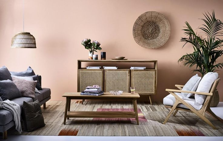 Not seen in such volume since the eighties (I'm sure I'm not the only one who remembers the material from childhood!), rattan has had a resurgence of late but in…