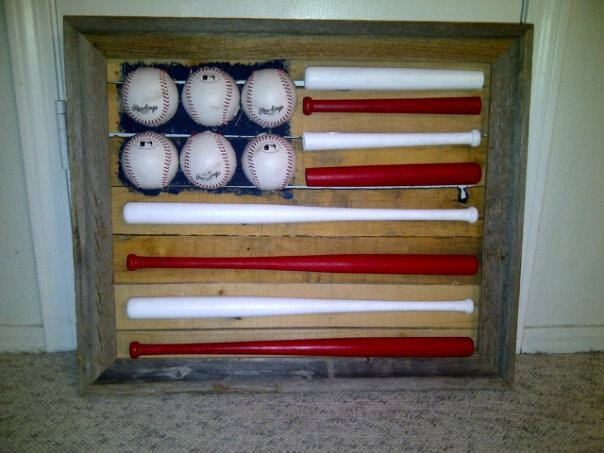 Baseball Flag Wall Hanging