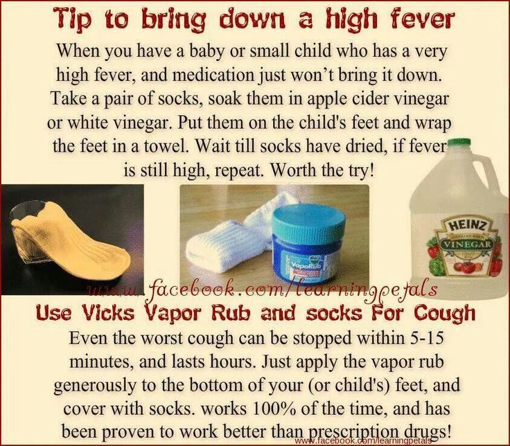 Breaking a fever