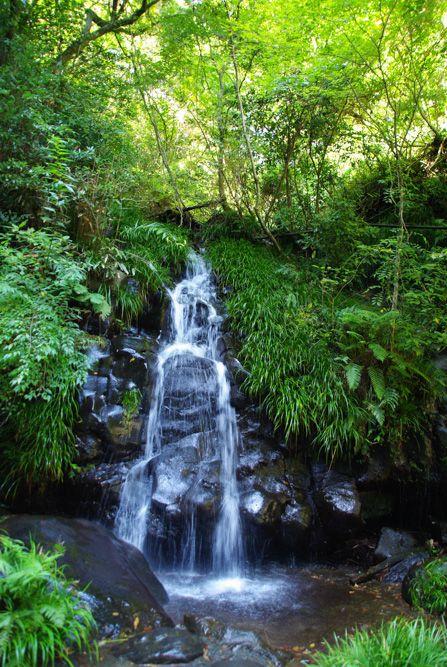 Une des 7 cascades de Nana Daru sur la péninsule d'Izu Hanto
