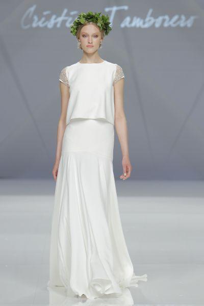 Vestidos de novia cuello redondo 2017: Un diseño que no pasa de moda Image: 10