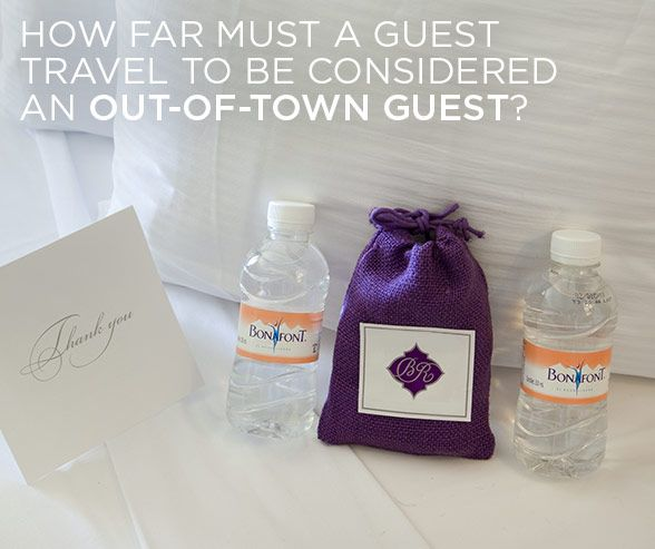 Wedding Gift Etiquette Out Of Town Guests : ... Travel to be Considered an Out-Of-Town Guest? Colin Cowie Weddings