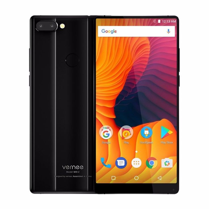 Vernee MIX2 LTE Smarthone 6.0''FHD Android 7.0 Octa Core 4G/64GB 4200MAH 2xLens