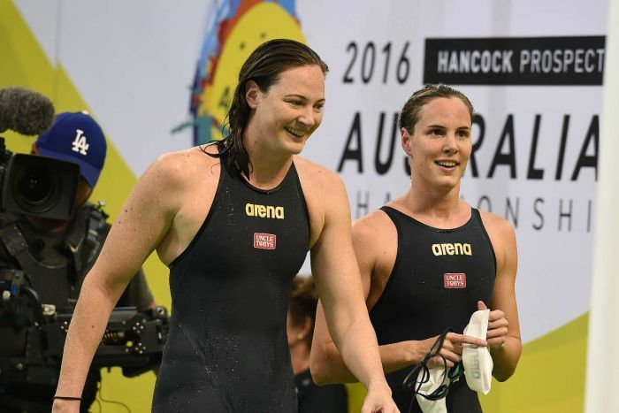 Rio Olympics: Cate, Bronte Campbell secure freestyle relay...: Rio Olympics…