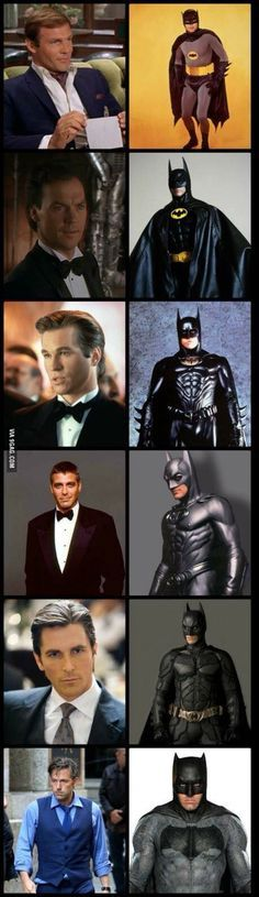 Christian Bell will always be my favorite batman!!! I can't believe they got Ben Aflec... :'(