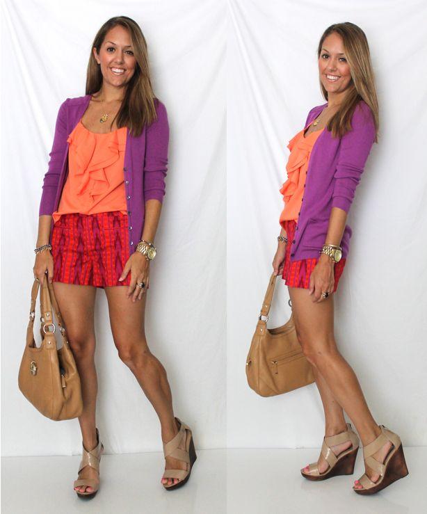 J's Everyday Fashion: Today's Everyday Fashion: Tribal Shorts
