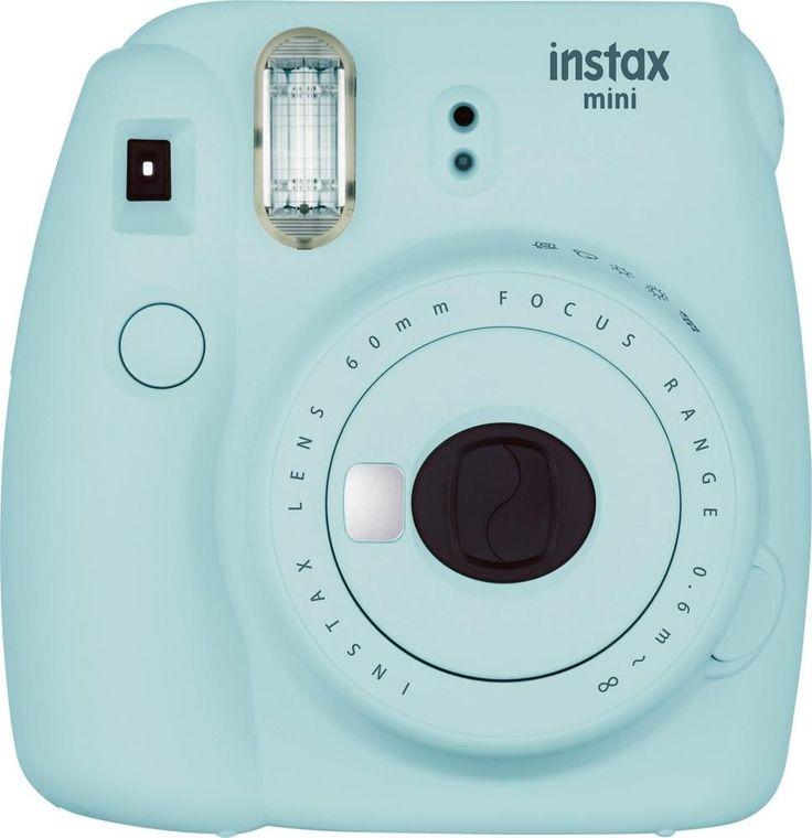 Fujifilm - instax mini 9 Instant Film Camera - Ice Blue