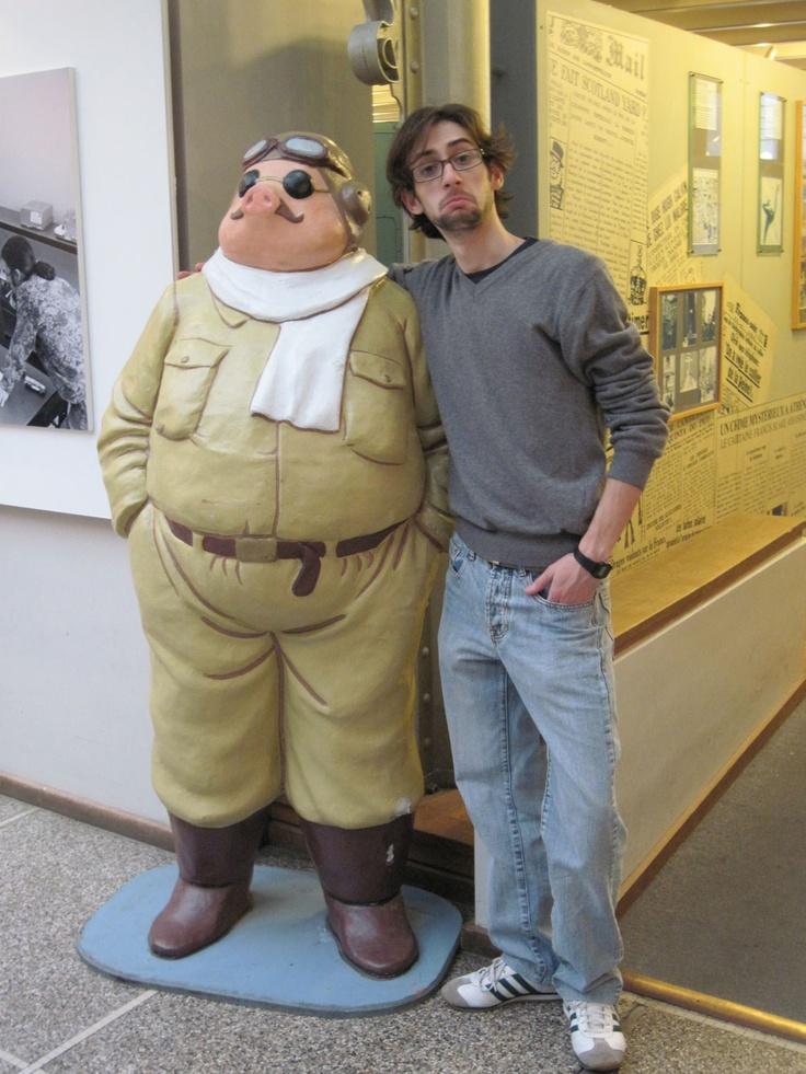 Io e Marco Pagot alias Porco Rosso