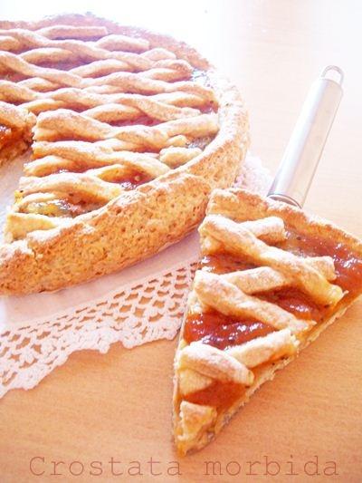 Crostata morbida senza burro e senza olio