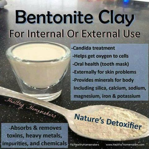 Bentonite clay #remedies #health