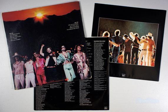 Bob Seger Stranger In Town 1978 Vinyl Lp Booklet Old Time Rock Roll Bob Seger Rock Roll Pop Charts