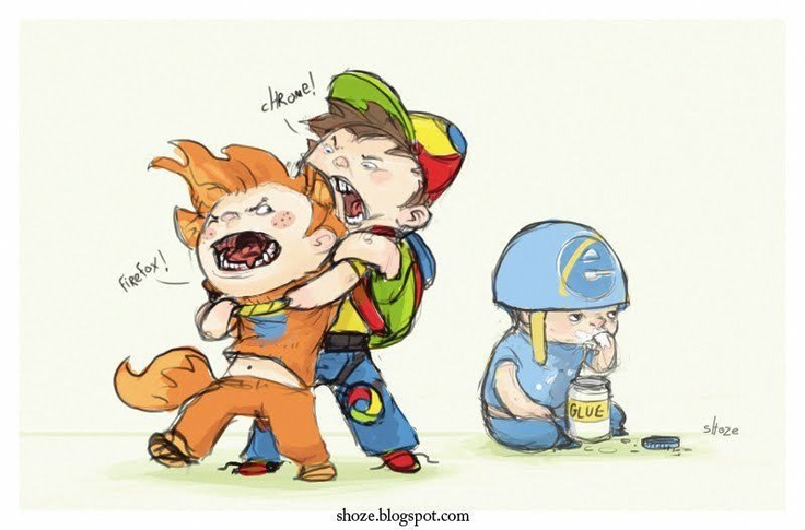 The truth about internet browsers.Geek, Browser Wars, Nerd Jokes, Funny Pictures, Internet Exploration, So True, Humor, Kids, True Stories