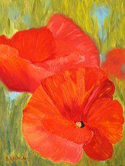 Featured Art - Poppies  by Bev Alldridge