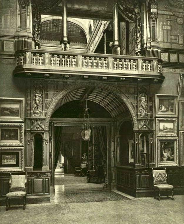 William H. Vanderbilt Mansion gallery main entrance