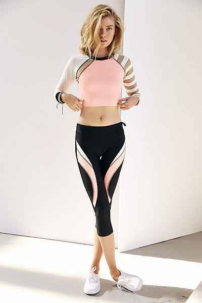 $66 Body Glove Cropped Rash Guard - Urban Outfitters