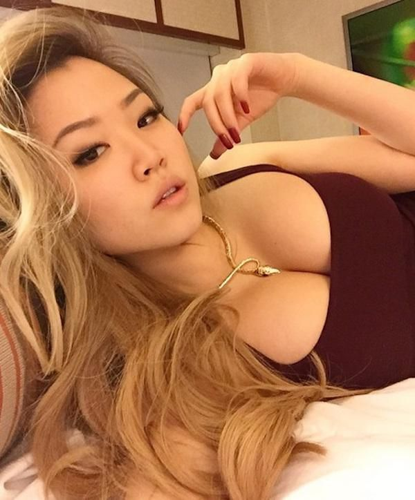 Asian And Blondes Beautiful Tits