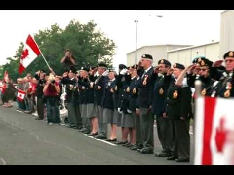DADDY'S POEM 2009 Canadian Highway Of Heroes - YouTube
