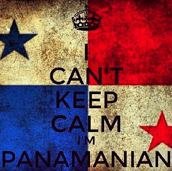 I can't keep calm I'm Panamanian