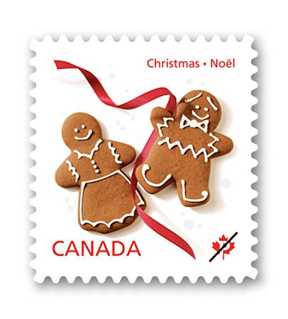 Here's a great 2012 Canadian Christmas stamp