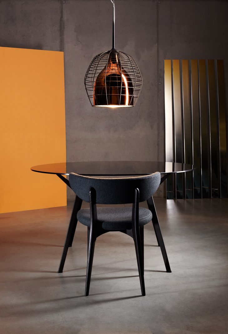 """#product design #industrial design #lighting #dining table - """"Cage"""" by Diesel Foscarini"""