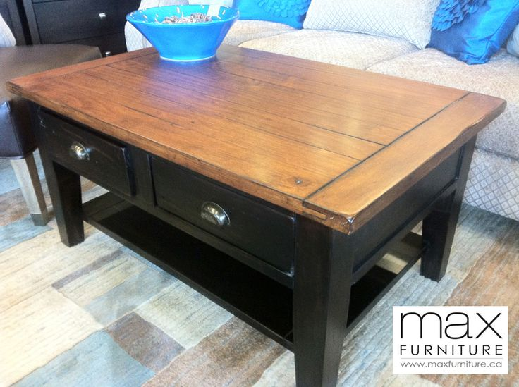 Irish Coast Coffee Table, $565 CAD  Reclaimed Wood  Max Furniture Victoria  #YYJ