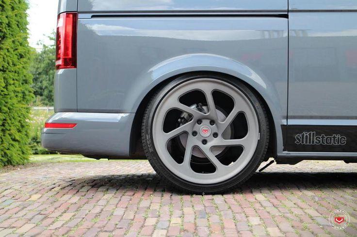 Volkswagen VW T6 Vossen LC 108T HR Deep Gewindefahrwerk 33 photo