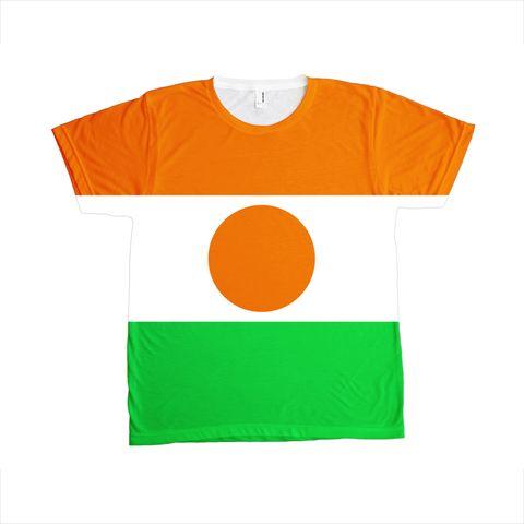 Niger Flag T-SHIRT - Unisex