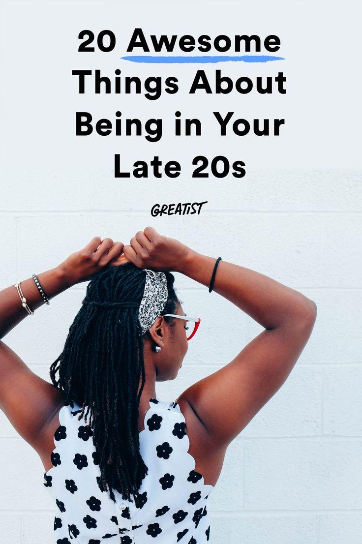 dating advice late twenties