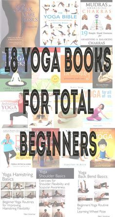 Pin now, read later! 18 yoga books for total beginners