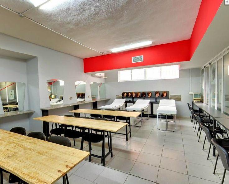 Escuela de Peluquería y Estética Grupo 7: Nuestras instalaciones paso a paso