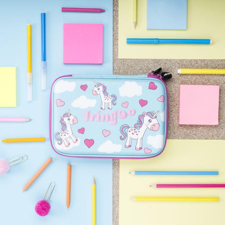 Cute Unicorn Girls Pencil Case. Amazing School Accessory.