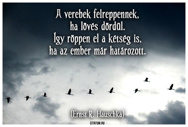 Ernst R. Hauschka #idézet