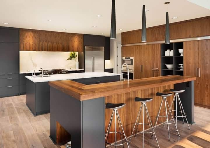 Pin By Andris Raubiskis On Kuhni Modern Kitchen Design Galley Kitchen Design Modern Kitchen